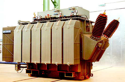CG Global's traction transformer with Eurocooler's degraded radiators