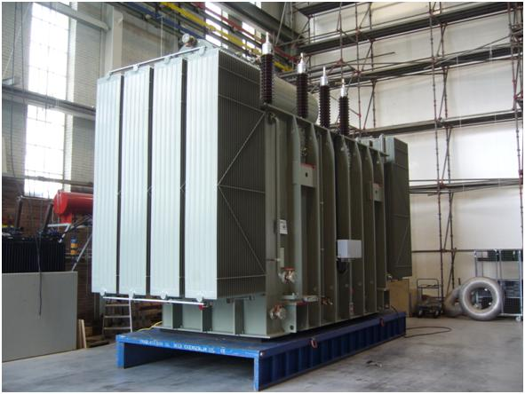 SMIT's high-power transformer with Eurocooler's radiators - 02